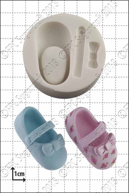 'Baby Shoe' Silicone Mould